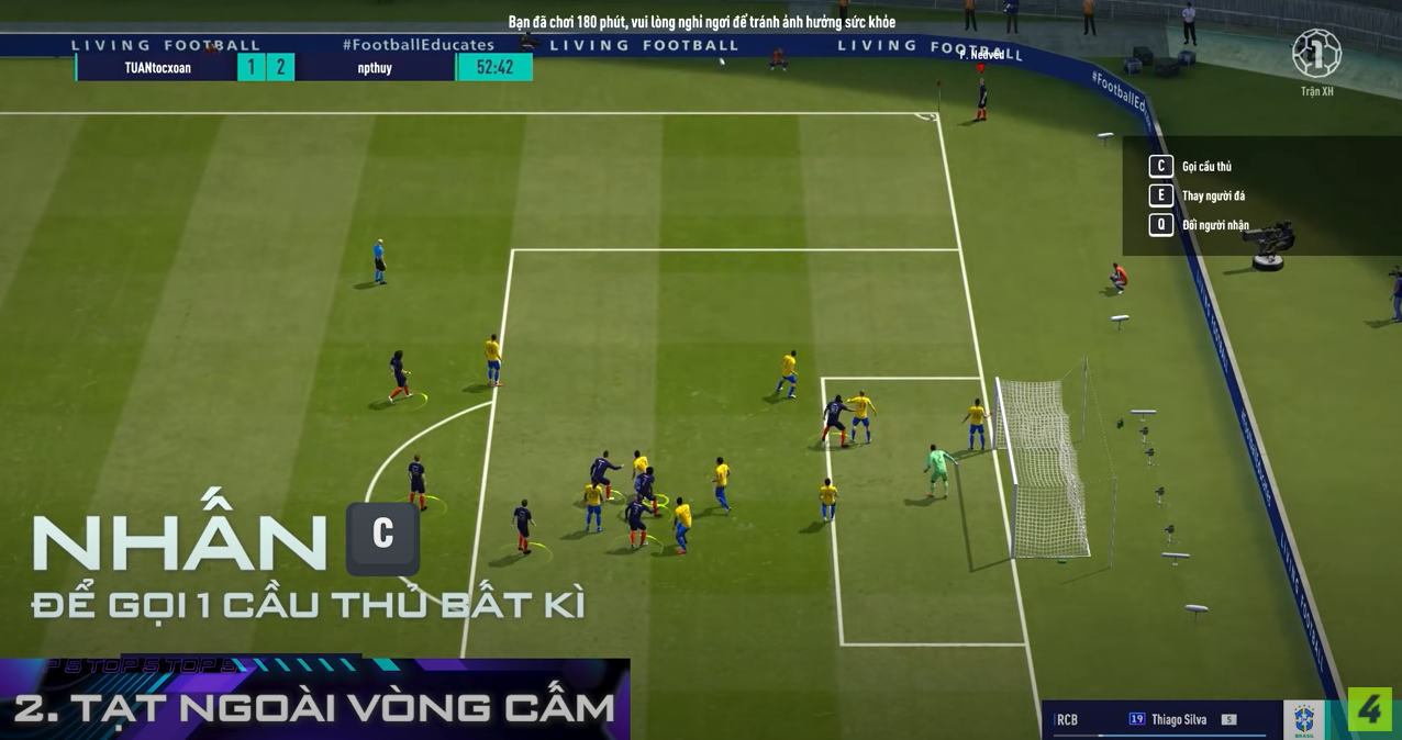 """Hé lộ điều ít ai biết về bài tấn công """"đá phạt góc"""" hiệu quả nhất trong FIFA ONLINE 4   BeeTechz"""