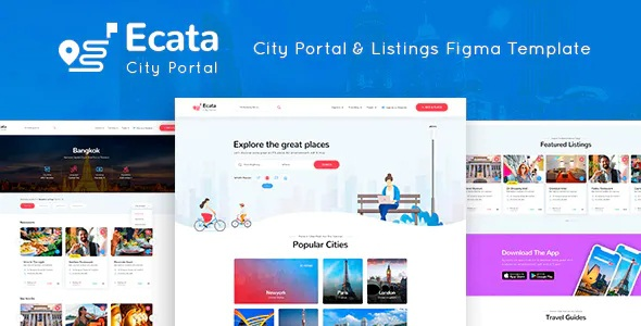Best City Guide Figma Template