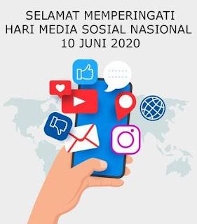 ucapan hari media sosial nasional 10 juni  2020-instagram