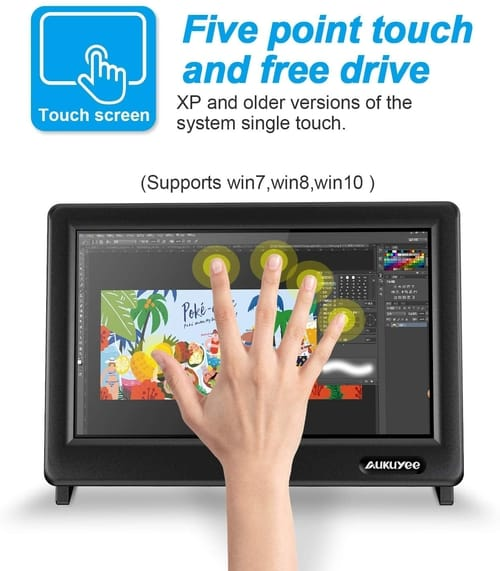 Review AUKUYEE Raspberry Pi Touch Screen Monitor