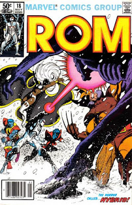 ROM #18, the X-Men