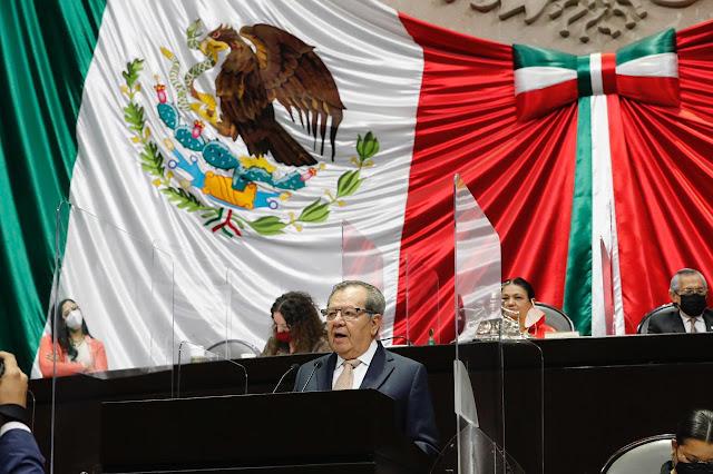 Zaldívar, obligado a deslindarse del Ejecutivo: Muñoz Ledo