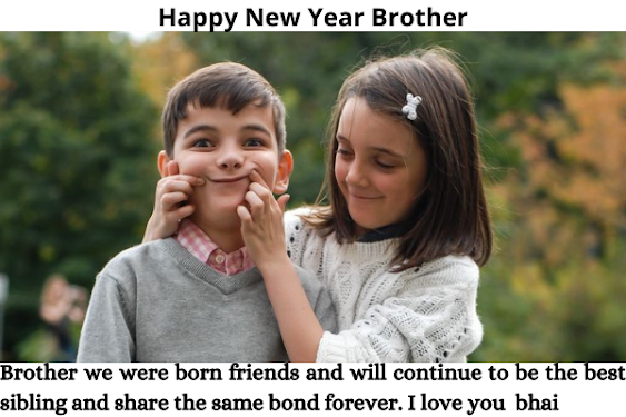happy new year brother images, happy new year wishes for brother