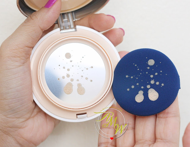 a photo of VDL Metal Cushion Foundation review in shade 205.