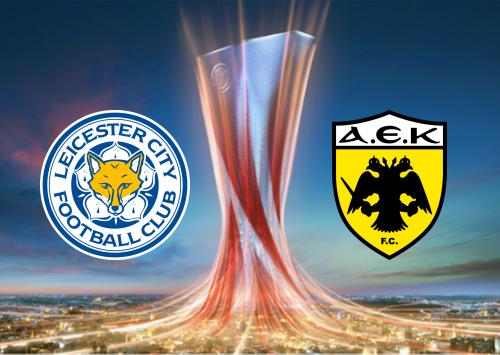 Leicester City vs AEK Athens -Highlights 10 December 2020