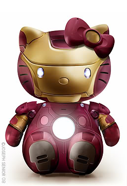 Hello Kitty y Iron Man