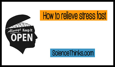 how to relieve stress fast