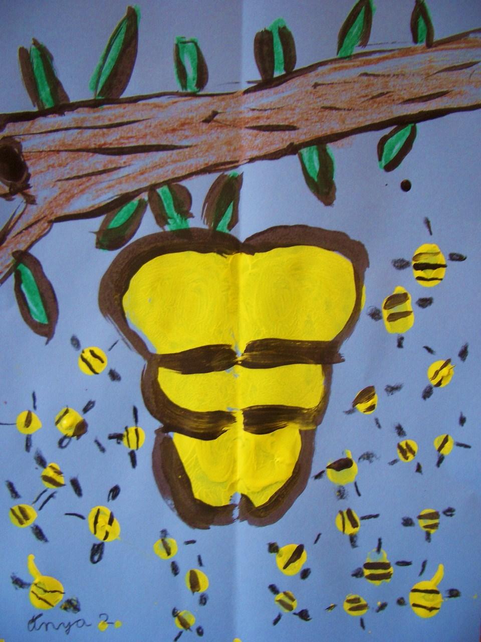 Honey Bee Hives Underground
