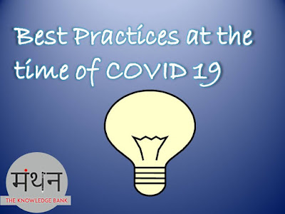 Best Practices at the time of COVID 19