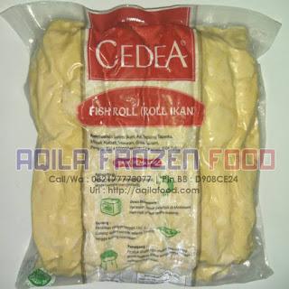 Cedea Fish Roll (Roll Ikan) 1Kg