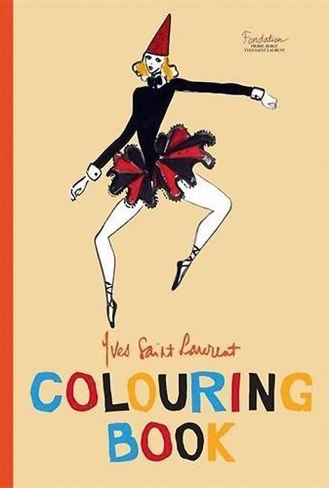 YSL coloring book