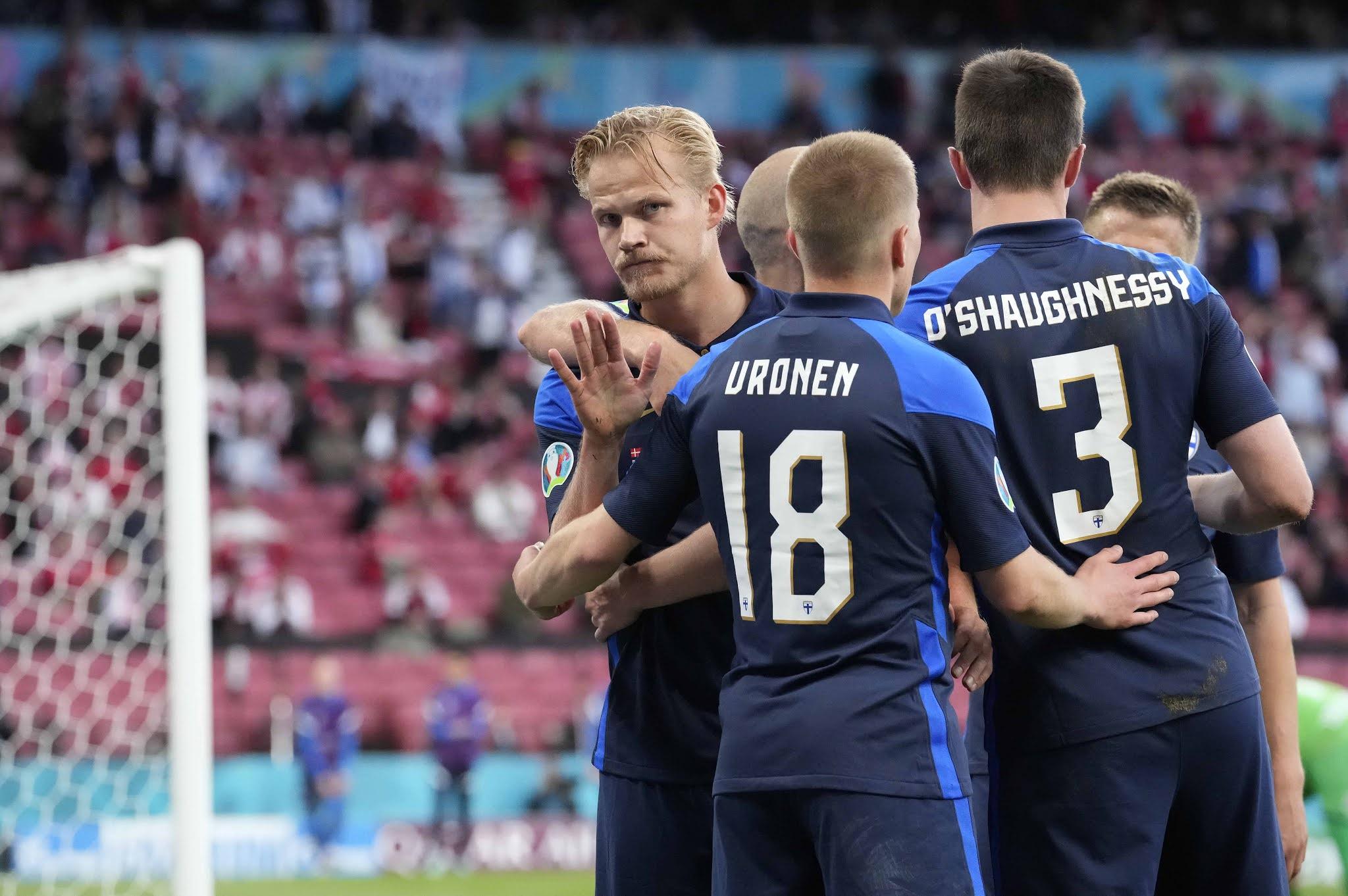 Eurocopa: Dinamarca pierde con Finlandia después de la conmoción por Eriksen