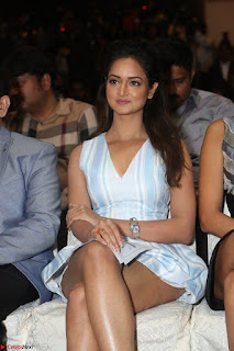 Shanvi Looks super cute in Small Mini Dress at IIFA Utsavam Awards press meet 27th March 2017 92.JPG