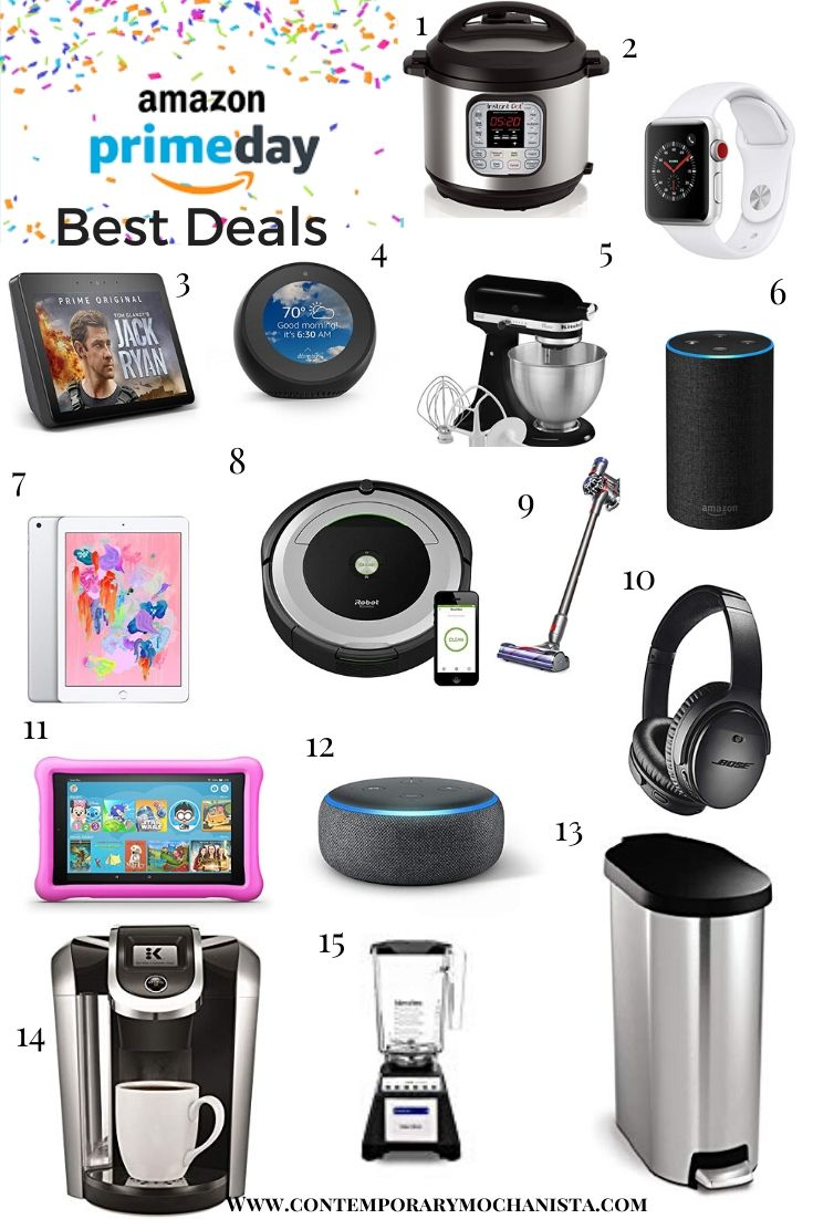 Items featured on Amazon Prime Day