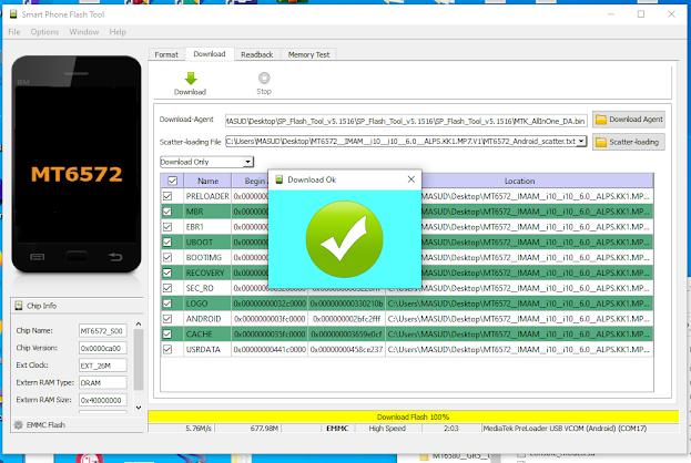 imam i10 firmware CA+BA+EA+EX file hang logo fix