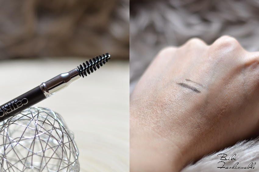 Catrice Eye Brow Stylist Bürstchen Swatch
