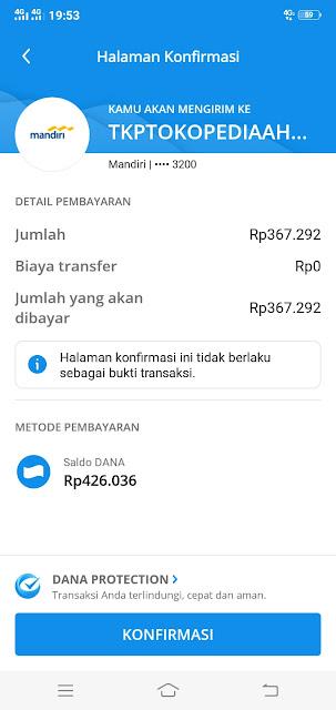 bayar tagihan belanja online dengan aplikasi dana - root93
