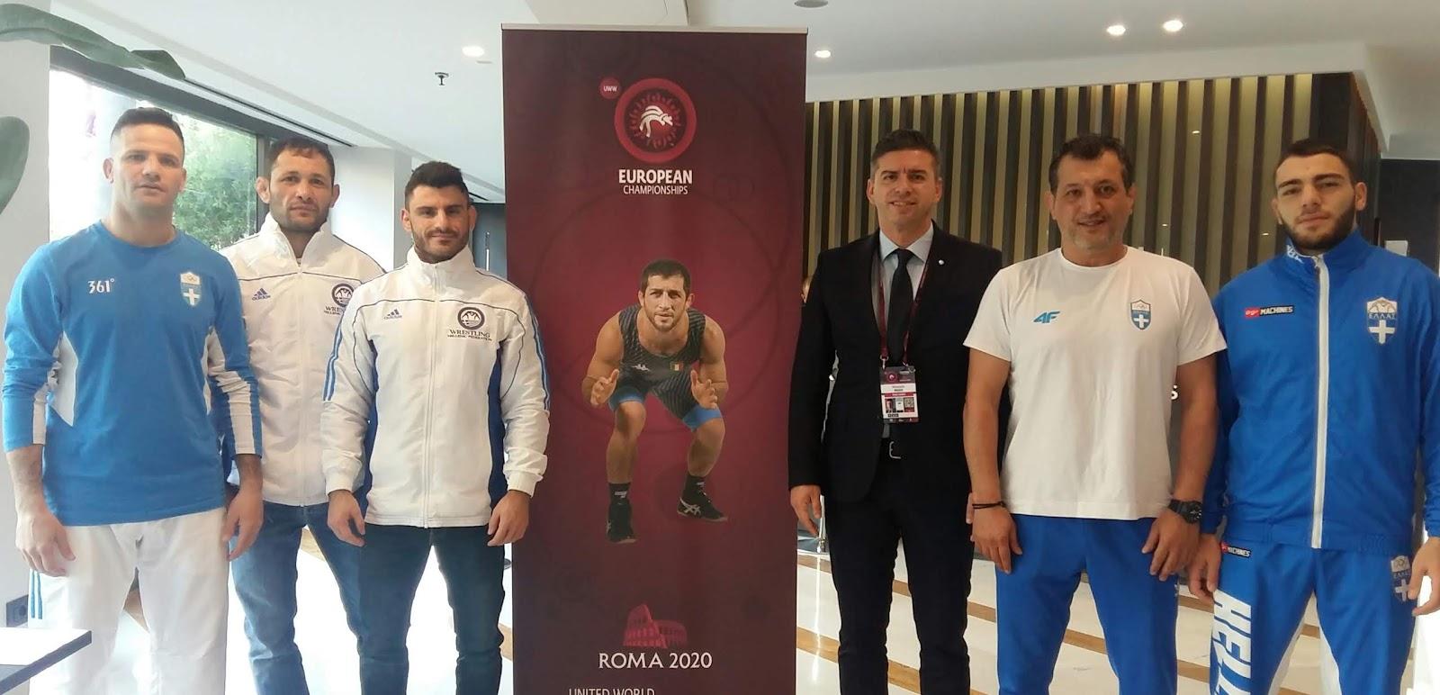 Αρχηγός τη Εθνικής Ομάδας Πάλης στο Ευρωπαϊκό Πρωτάθλημα ο Θανάσης Παιδής