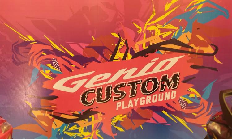 Genio Custom Playground, Dari Honda untuk Generasi Millenial