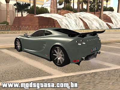Ascari KZ1R Limited Edition 2008 para GTA San Andreas