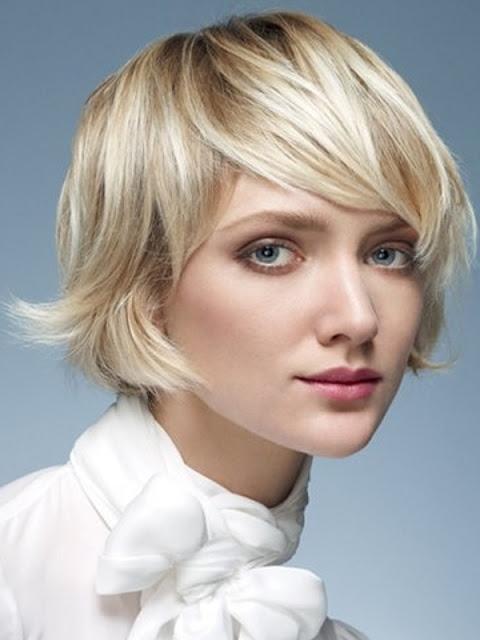 MEDIUM LENGTH HAIRCUT: Full Fringe Hairstyles 2013