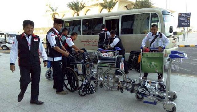Banyak Kursi Roda Tak Bertuan Di Bandara Madinah, Ini Penyebabnya