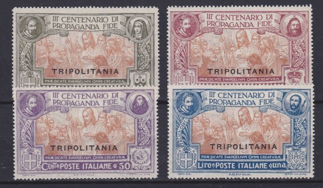 Tripolitania scott 1-4