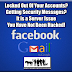 Facebook & GMail Server Issues Spark Hacking Fears - Your Accounts Are Safe!