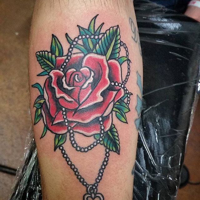 Gambar Tato Bunga Mawar Rose Terbaru Sederhana Tapi Keren