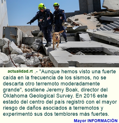 Terremotos provocados por el hombre amenazan a más de 3 millones de estadounidenses.