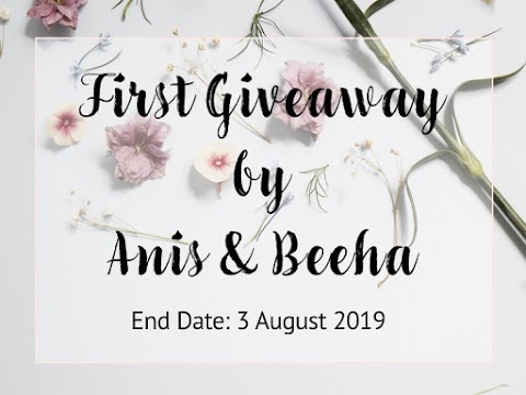 First Giveaway by Anis & Beeha