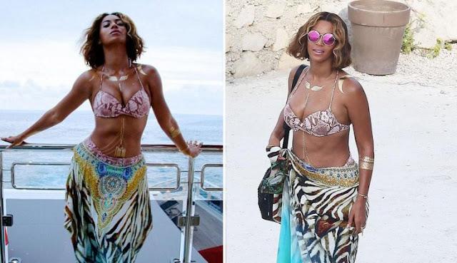 Beyoncé passou de uma fotografia espetacular para uma Beyoncé mais normal