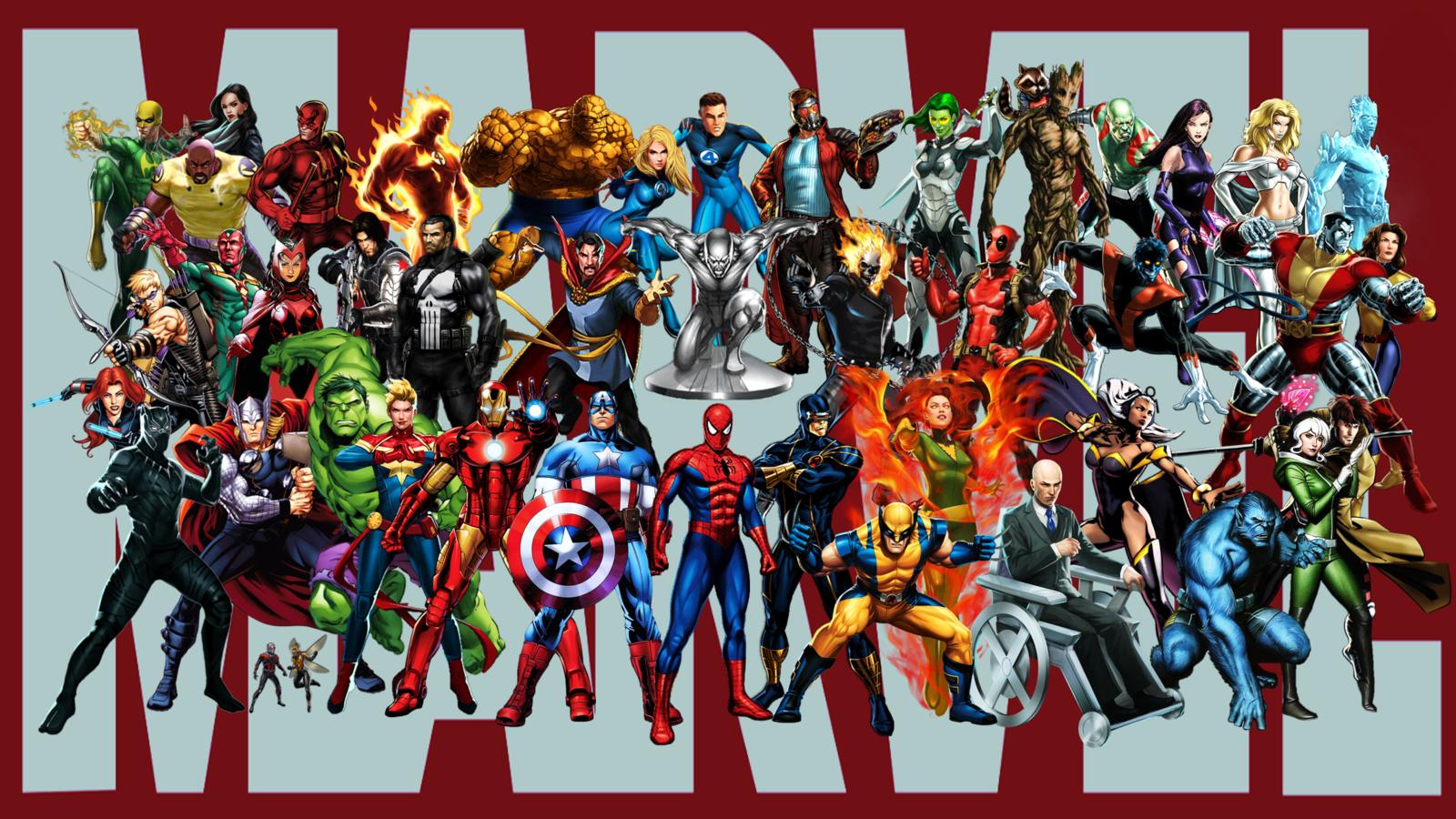 все супергерои марвел список фото это