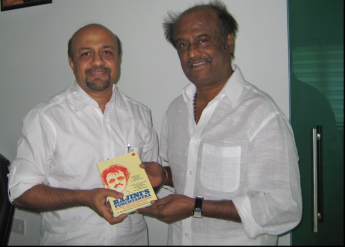 Author P C Balasubramanian - Superstar Rajinikanth never interfered into either of the books I have written about him.