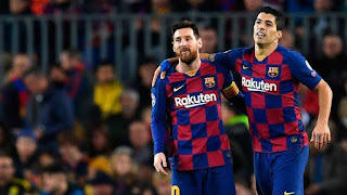 'They are inseparable: Luis Suarez agent reveals how Messi's future will influence on Suarez transfer.