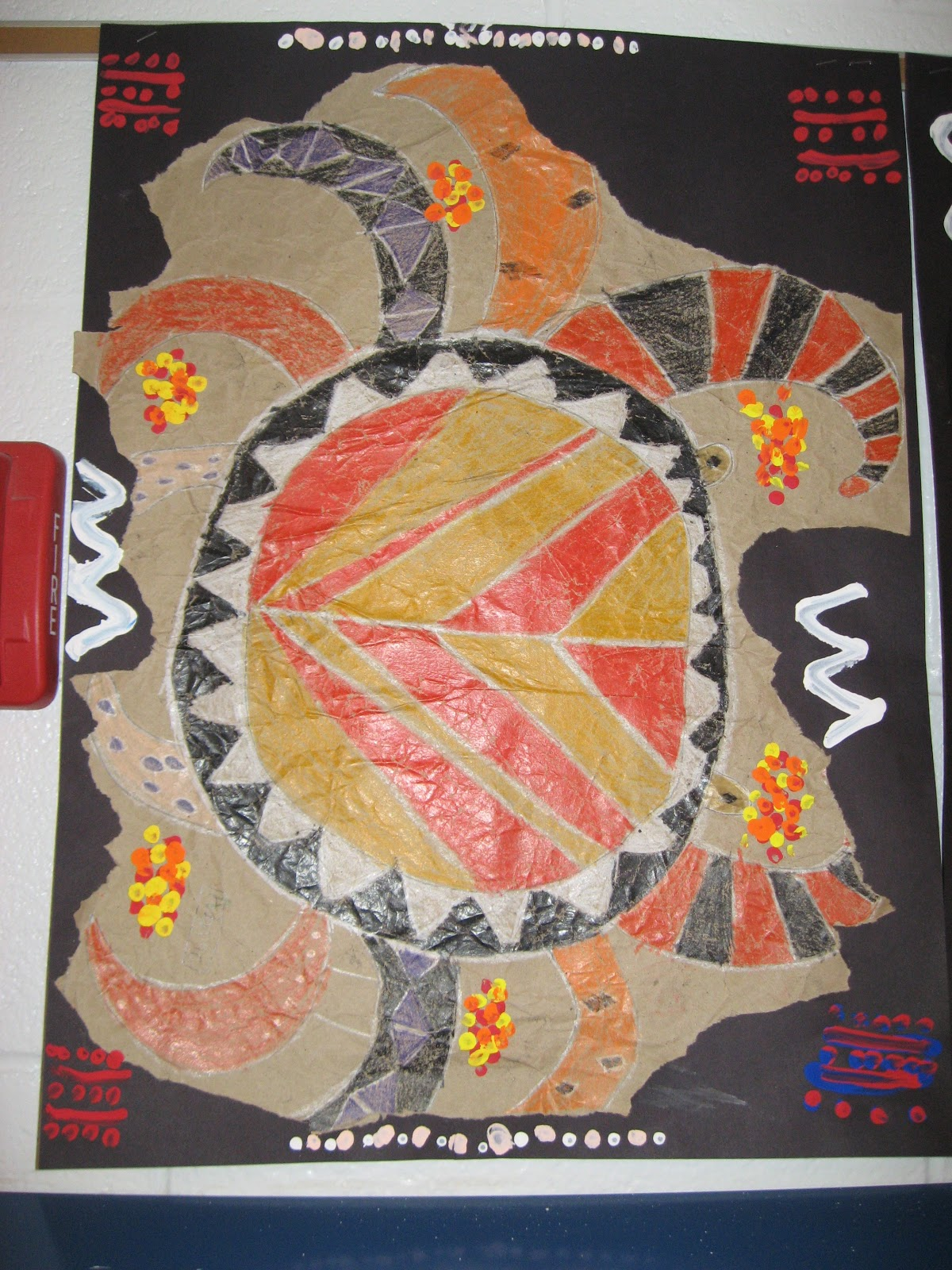 Jamestown Elementary Art Blog 4th Grade Aboriginal Bark Paintings