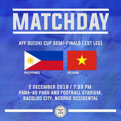 Live Streaming Philippines vs Vietnam AFF Suzuki 2.12.2018