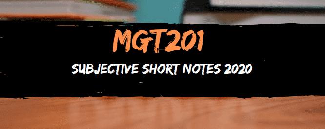 MGT201 SHORT