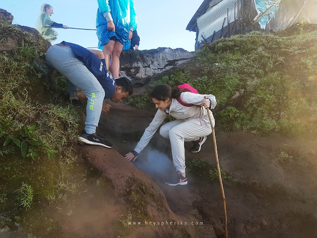 Sauna di Gunung Batur
