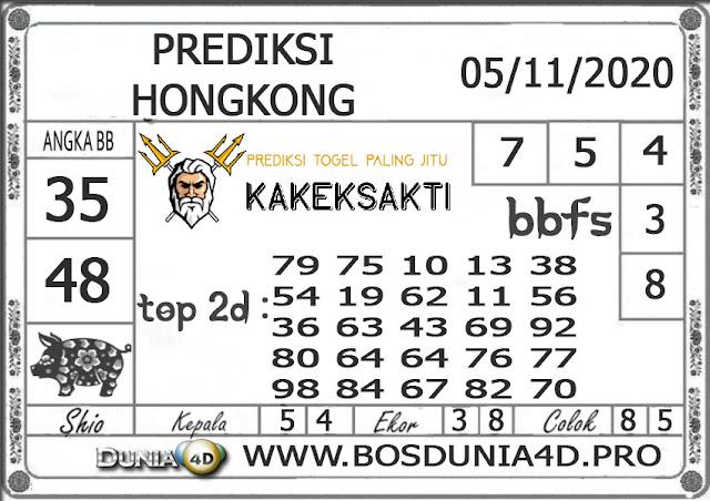 Prediksi Togel HONGKONG DUNIA4D 05 NOVEMBER 2020