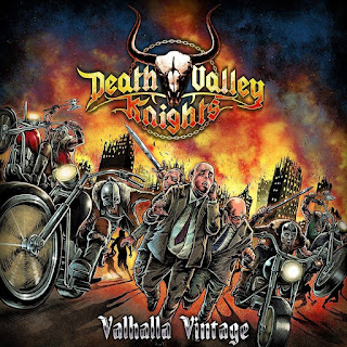 "Death Valley Knights - ""Be the Grizzly"" (video) from the ep ""Valhalla Vintage"""