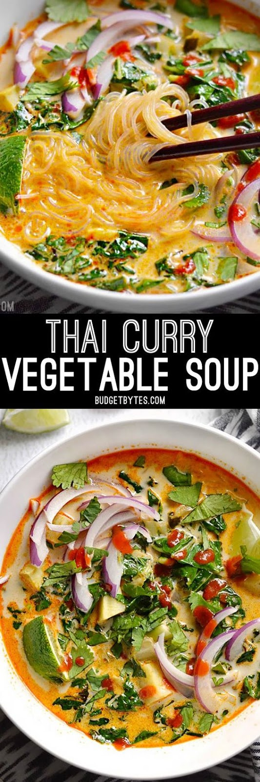 HEALTHY THAI CURRY VEGETABLE SOUP