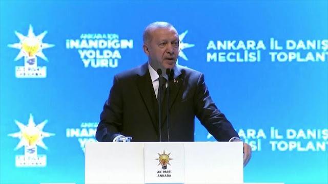 Presidente turco se aferra a su postura desafiante sobre Siria
