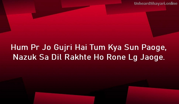 Image Sad Shayari Download in Urdu With Photo