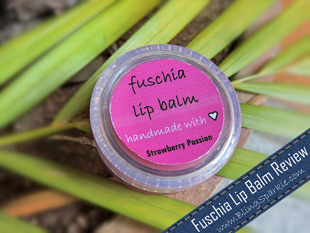 Fuschia Lip Balm in Strawberry Passion Review