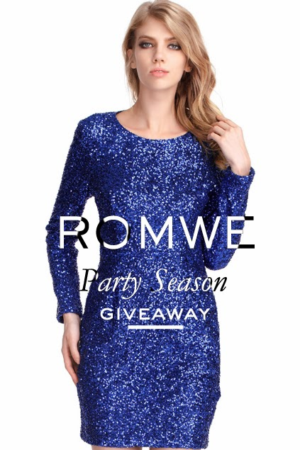 CLOSED: Giveaway Romwe Party Season