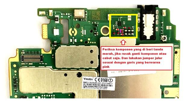 Memperbaiki kerusakan speaker Xiaomi Redmi 6A