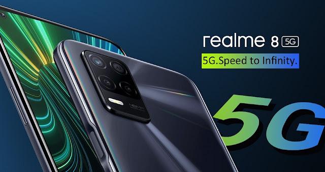 سعر ومواصفات Realme 8 5G فى السعودية و مصر