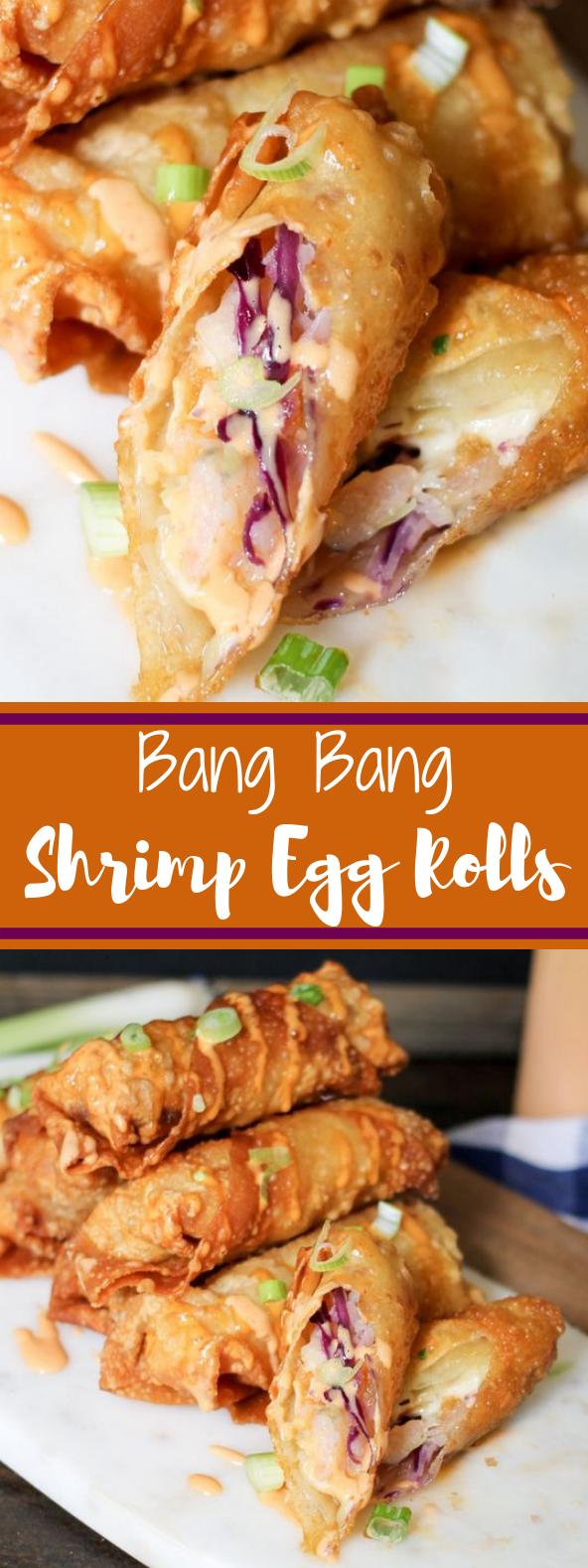 Bang Bang Shrimp Egg Rolls #appetizer #shrimp