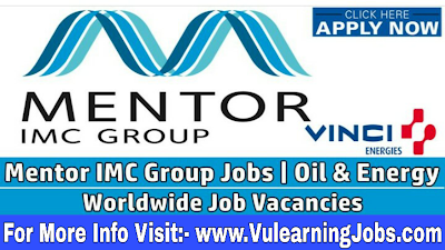 Mentor IMC Group Limited Career & Jobs 2019 In Worldwide